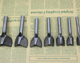 15MM-45MM durable steel V-Shaped Corner Punch-Cutter for leather crafts-leather tool