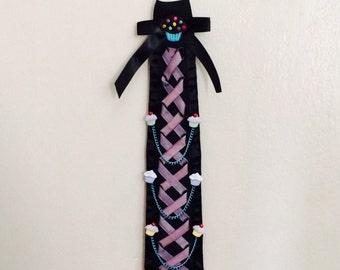 So Sweet Pastel Goth Cupcake Necktie