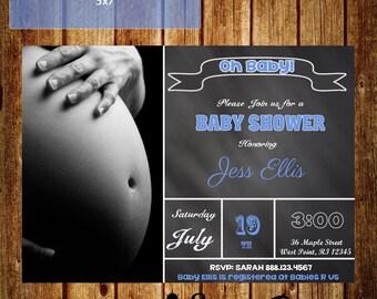 Chalkboard Baby Shower Invitation!