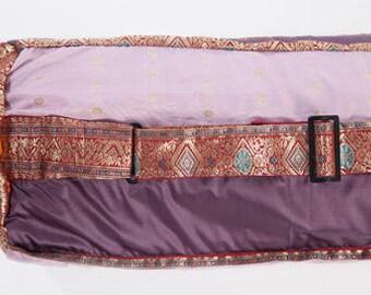 Purple Yoga Mat bag