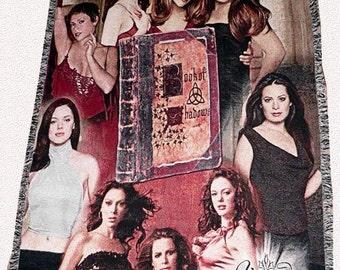 Charmed Inspired Cast Throw Blanket