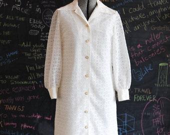 Oh Yoko White Day Dress