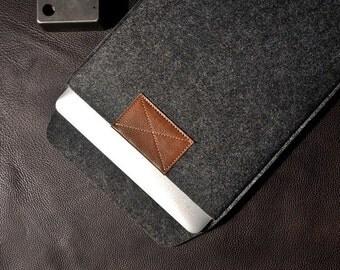 Felt 13.3 14 inch laptop bag For Toshiba