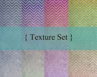 Texure set - chevron patterns grunge