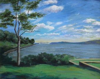 Scarborough Park View south over  Hudson River