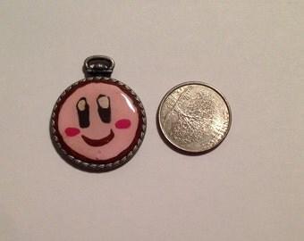 Cute Kirby Pendant