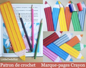 017F! Bookmarks pencil boss hook. PDF files. By Zabelina Etsy