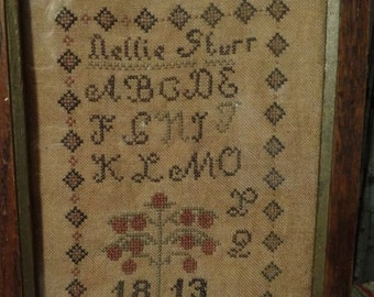 Nellie Sturr - Cross Stitch Pattern