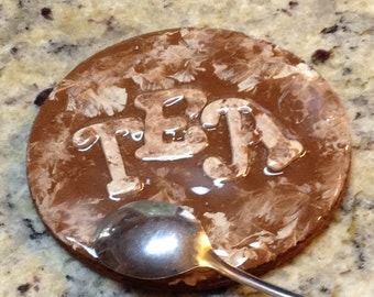 Tea oval spoon holder -gift - best gift - Tea accessory - Spoon rest