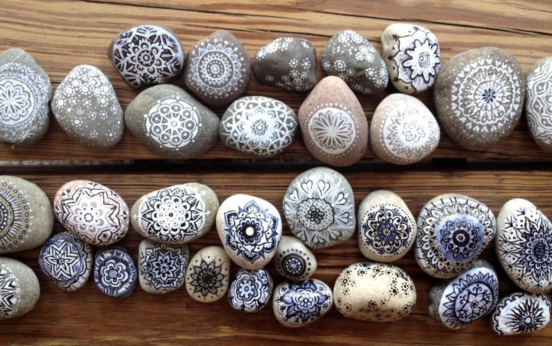 Boho Rock-Kollektion: Mandala Federn Pfeile von CleanSl8 auf Etsy