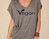 Eco-Jersey Sleeveless Hooded Poncho – Vegan