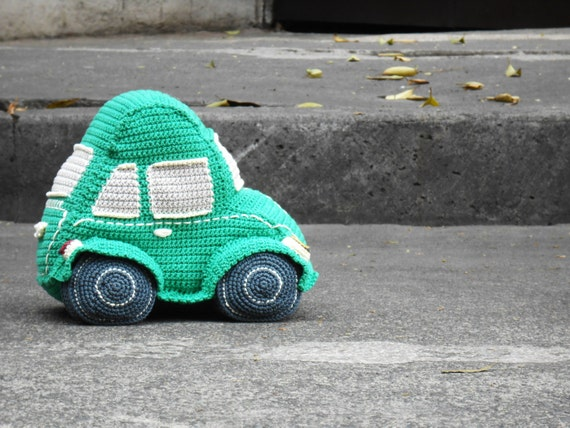 Amigurumi Beetle : Pattern Beetle car amigurumi. By Caloca Crochet from ...