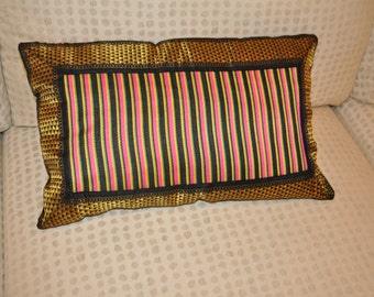 Eclectic silk cushion covers