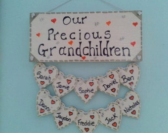 Grandma  family tree plaque