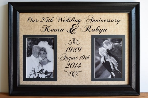wedding anniversary frame anniversary gift for wife anniversary