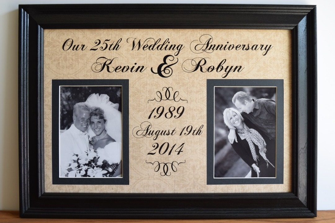Wedding Anniversary Frame Anniversary Gift for Wife