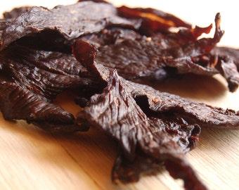 Homemade Beef Jerky, Original Flavor, Gourmet Hand Carved Artisan Jerky