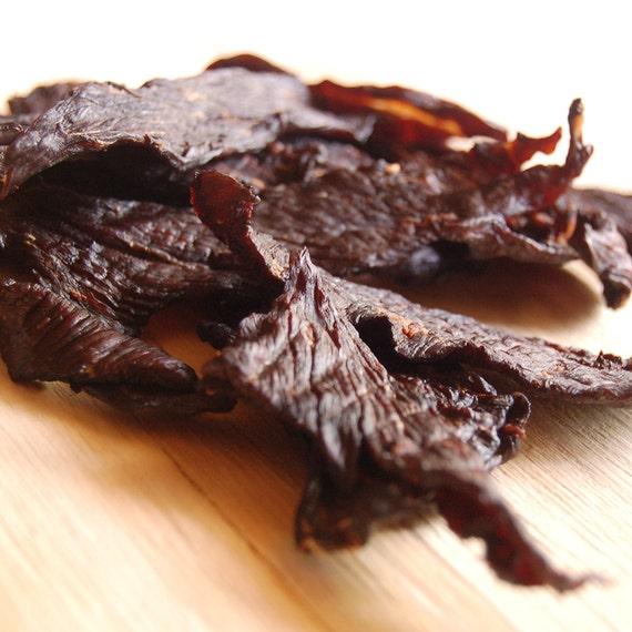 Homemade Beef Jerky, Original Flavor, Gourmet Hand Carved Artisan ...