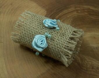 Set of 20 Napkin rings , Jute  napkin rings , Rustic napkin rings