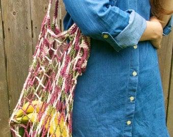Crochet Market Bag // Beach Bag