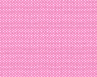 SPX Fabrics Best Friends Coordinates in Pink w/Small White Polka Dots 17