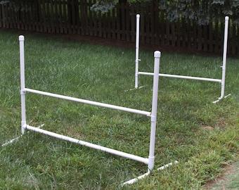 Custom PVC Dog Agility Jumps