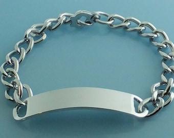 Men's XL ID Bracelet 012