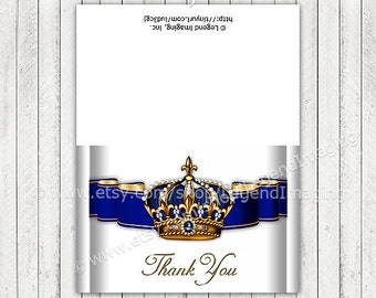 Prince Thank You Cards