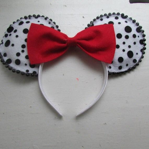 Dalmatian Ears 101 Dalmatians Minnie ...