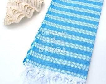 Picnic Blanket Turkish Bath Towel - Travel Boat Trip Turkey Towels Large Beach Blanket Beach Fouta Beach Sarong Cloth Peshtemal Towel