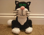Jess the Cat Knitted Toy - from Postman Pat (made from an Alan Dart pattern)