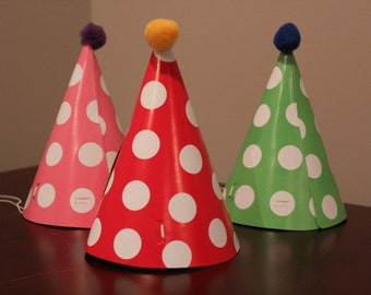 Circus/Carnival party hats