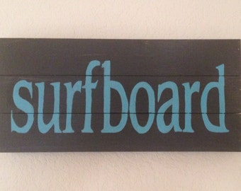 Surfboard Wall hanging