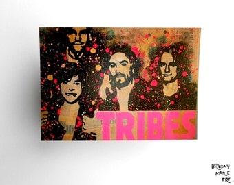 TRIBES | High quality gloss art-postcard. SALE ITEM