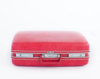 Newborn Prop Vintage 70s Suitcase