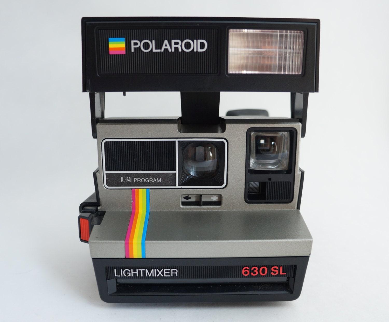polaroid light mixer 630 sl rainbow instant film camera takes. Black Bedroom Furniture Sets. Home Design Ideas