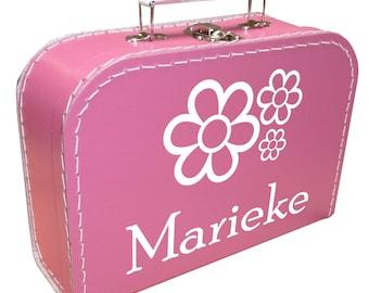 Presentation box with flowers