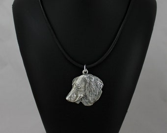 Teckel (longhaired), dog necklace, limited edition, ArtDog