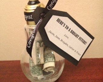 Light Bulb Jar Graduation Gift