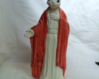 Ceramic Jesus Rabbit Bunny