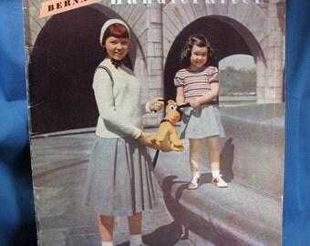 Bernat Handicrafter - 1950 - Knits for Children Sizes 4 -12