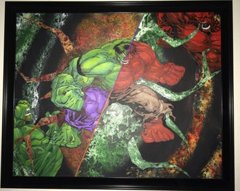 Popular items for incredible hulk on Etsy