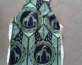 Double sided African Apron