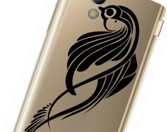 Phone decal sticker Bird iphone sticker or any mobile phone,High Quality Vinyl, available sizes
