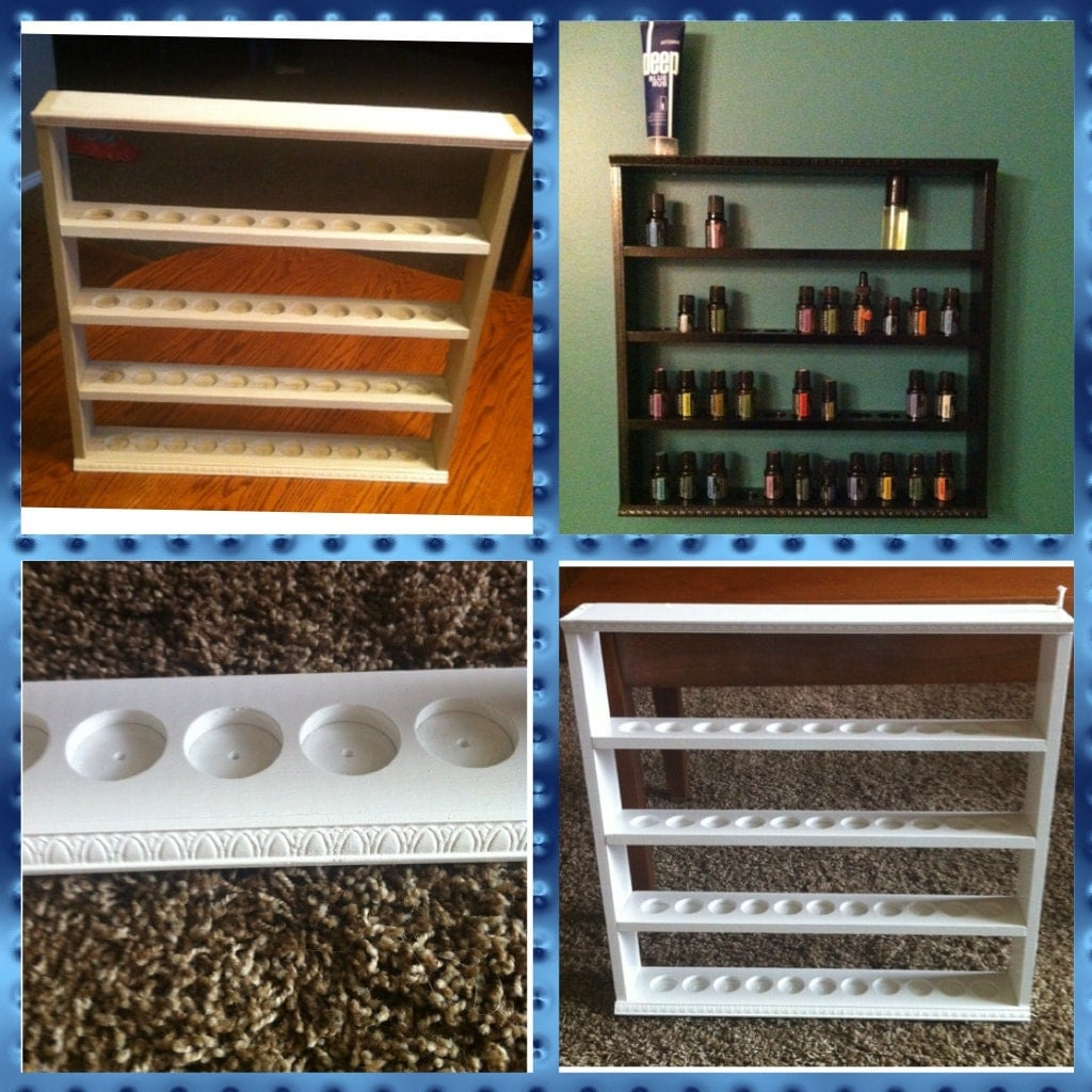 Essential Oil Display Shelf Holds 44 Bottles By