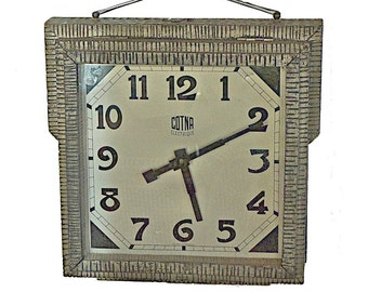 Antique French Clock Double Sided