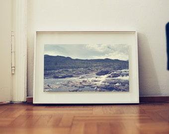 fine art print: landscape photography. Chapada dos Veadeiros, Goias