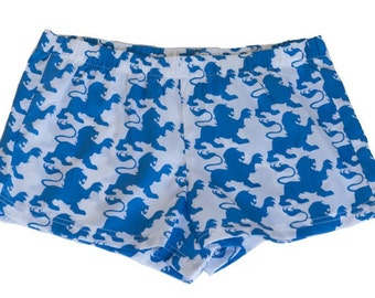 Blue Lion Boxer Shorts
