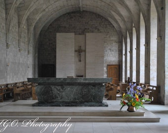 Landscape and Architecture Photography - Normandy France - Abbey at Bec-Hellouin - French Photography - Travel Photography Fine Art Wall Art