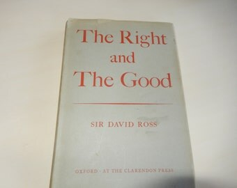 THE RIGHT and the GOOD Book